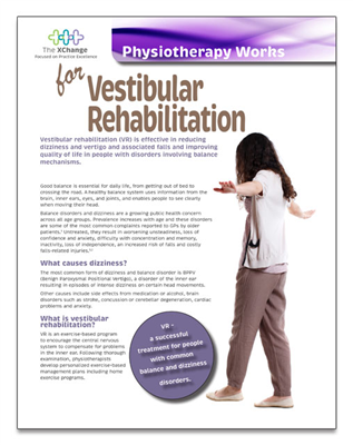Physiotherapy Works Vestibular Rehab