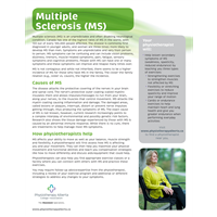 Multiple Sclerosis (MS) Org. - customizable