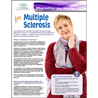 Physiotherapy Works - Multiple Sclerosis (MS)