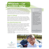 Whiplash & Car Accident Injury