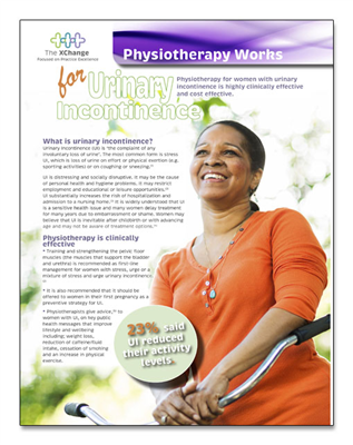 Physiotherapy Works Urinary Incontinence