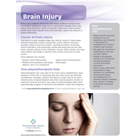 Brain Injury Organization - customizable