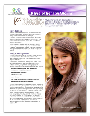 Physiotherapy Works Obesity