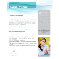 Carpal Tunnel Organization - customizable