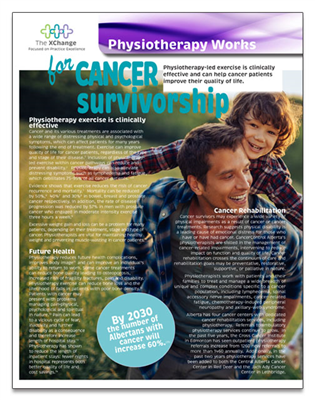 Physiotherapy Works Cancer Survivorship