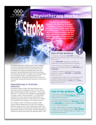 Physiotherapy Works Stroke