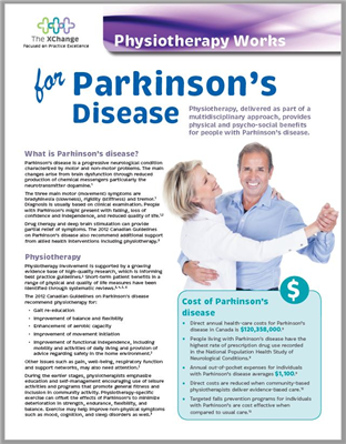 Physiotherapy Works Parkinson's Disease