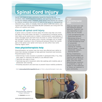 Spinal Cord Injury Organization - customizable