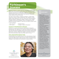 Parkinson's Disease Organization - customizable