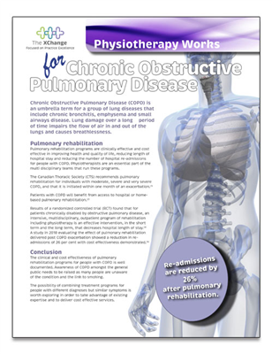 Physiotherapy Works COPD